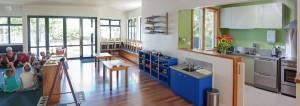 classroom & kitchen